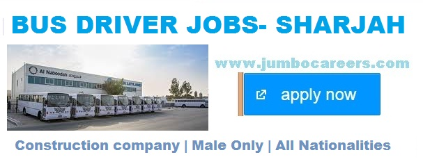 +2 Jobs in Sharjah, Driver Jobs in Sharjah UAE