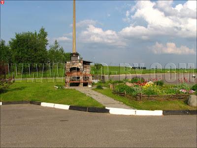 Заправка Славнефть на перекрестке М6-Н8978. Очаг