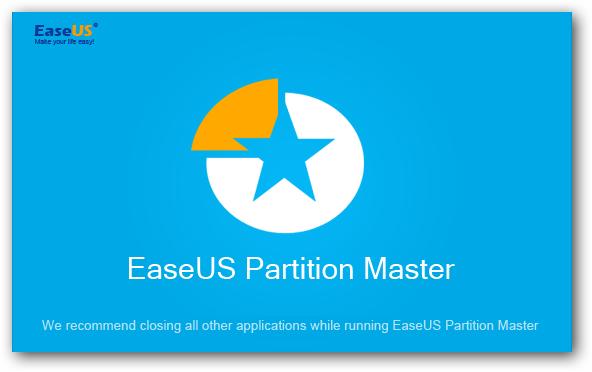 EaseUS Partition Master 12.9 - Katılımsız Program