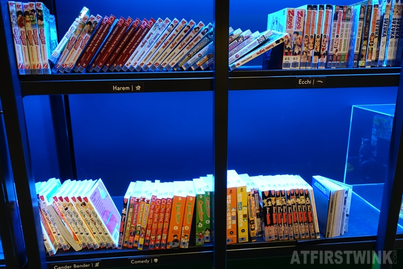 Museum Volkenkunde Leiden the Netherlands Cool Japan exhibit harem echi gender bender comedy manga books