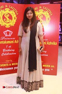 Choreographer Shobi   Lalitha's Daughter 1st Birthday Celetion Pictures