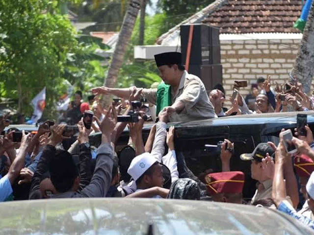 Prabowo Subianto Singgung Proyek Infrastruktur di Era Jokowi