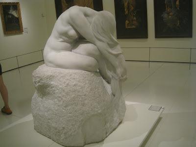 Resultado de imagen de Enric Clarasó escultura Eva (1904, MNAC),