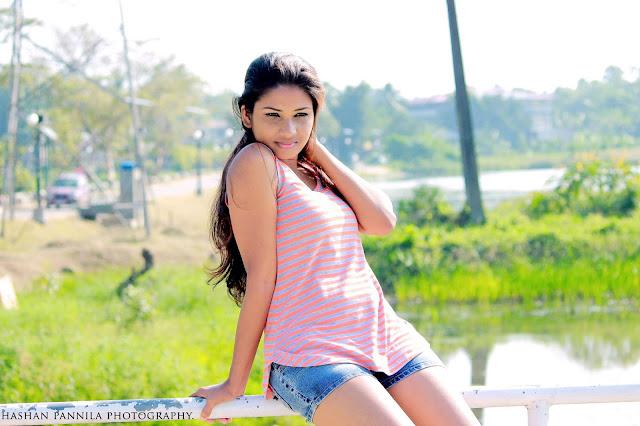 Model Madushani Casual Shoot