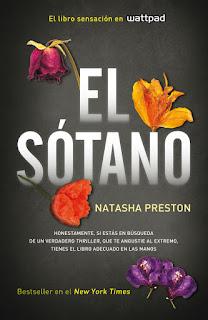 """Reseña de """"El sótano"""" de Natasha Preston"""