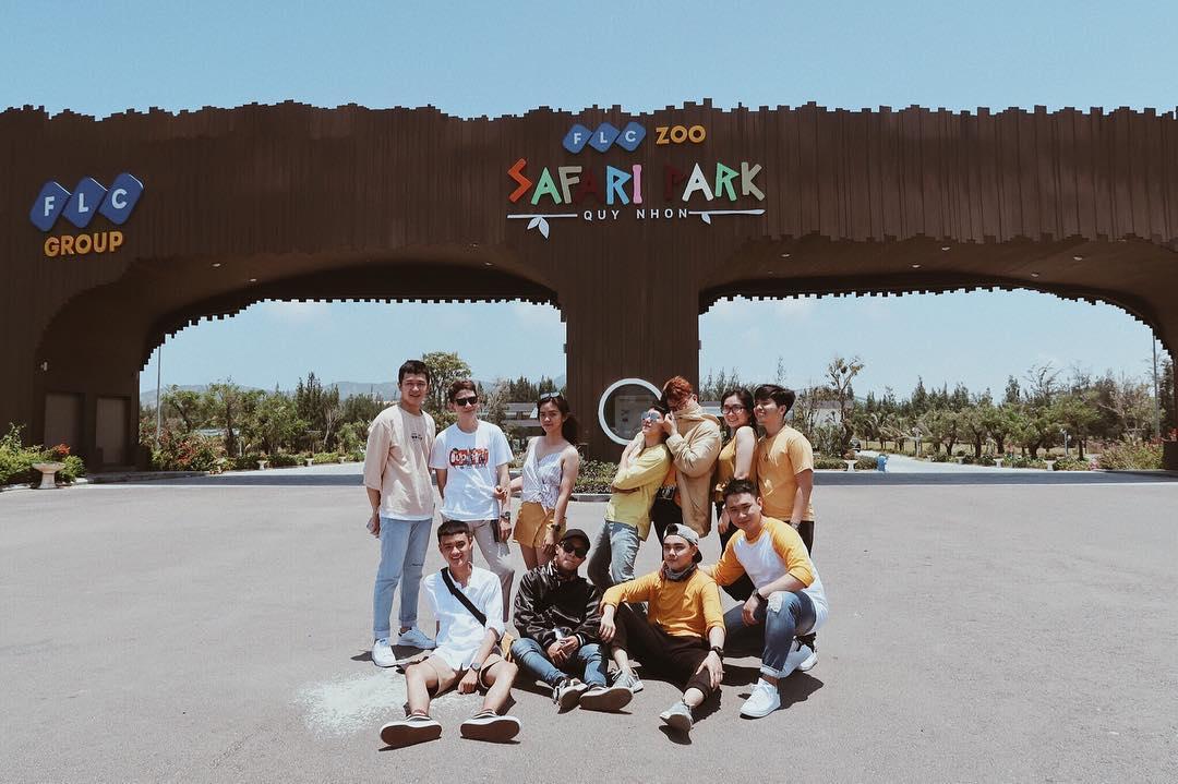 FLC Zoo Safari Park Quy Nhơn điểm đến vô cùng thú vị