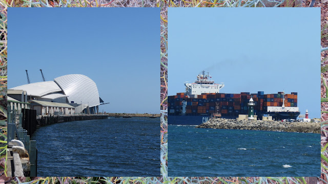 Fremantle things to do: the container port