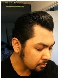 Pemakaian Pomade Murrays Hair Styling atau Minyak Rambut Super Ligh 1