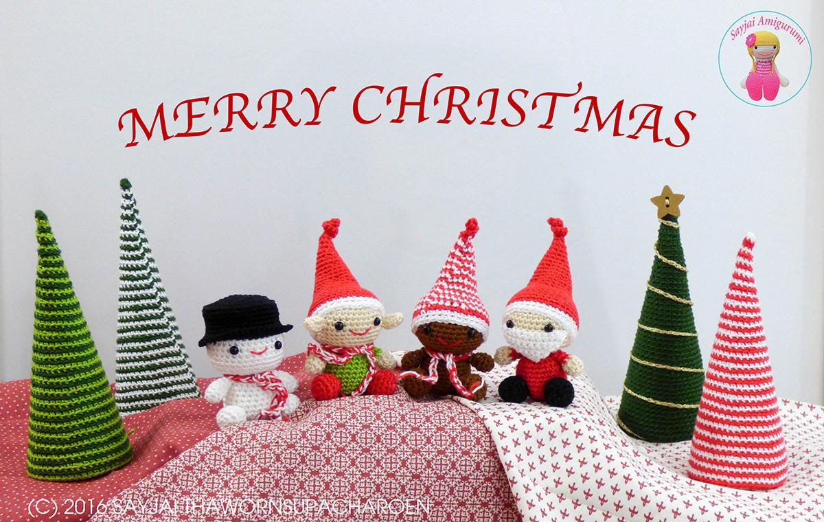 Amigurumi Santa Claus PDF Crochet Patterns Christmas Santa Toy | Etsy | 760x1200