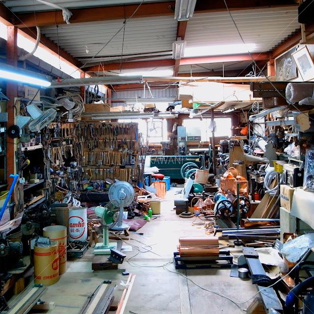 ブリキ屋の工作場