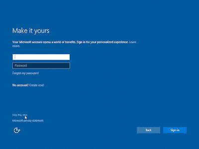cara cepat install windows 10
