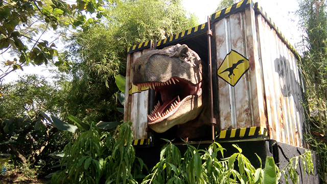 Taman Legenda TMII, Bermain di Petualangan Dinosaurus yuk!