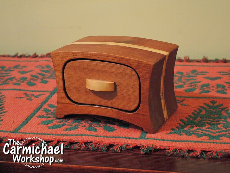 The Carmichael Workshop: Bandsaw Boxes Make Great Gifts!