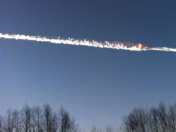 The Tree of PRIDE: Meteors Over Russia