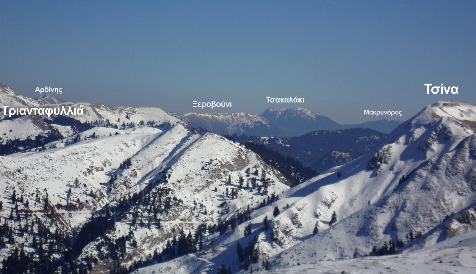 αρδίνης ξεροβούνι τσακαλάκι ορεινής ναυπακτίας τσίνα παναιτωλικό όρος