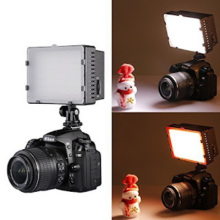 NEEWER CN-216 216PCS LED Dimmable Ultra High Power Panel Digital Camera / Camcorder Video Light, LED Light for Canon, Nikon, Pentax, Panasonic, SONY, Samsung and Olympus Digital SLR Cameras