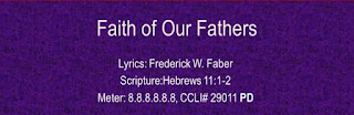 faith of our fathers hymnal
