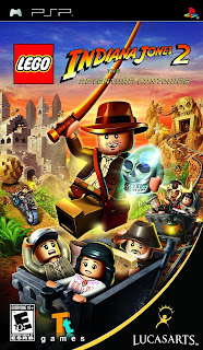Lego Indiana Jones 2 The Adventure Continues PSP GAME ISO