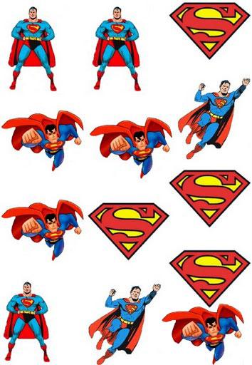 Pegatinas De Superman Para Imprimir Imagenes Y Dibujos