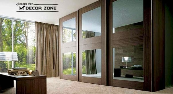 Modern Mirrored Wardrobe Designs For Bedroom