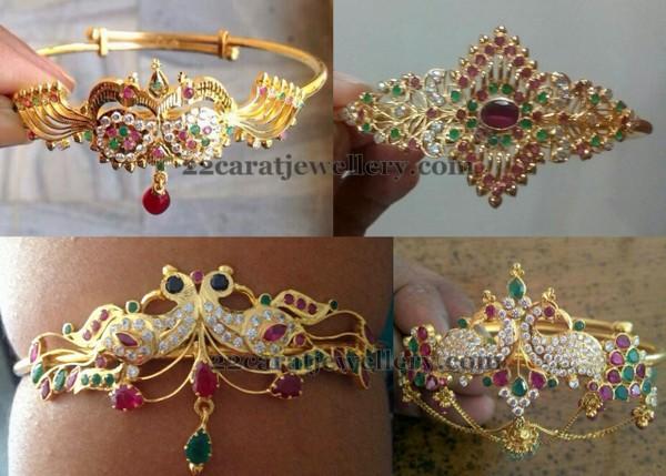 Light Weight Bajuband Designs Jewellery Designs