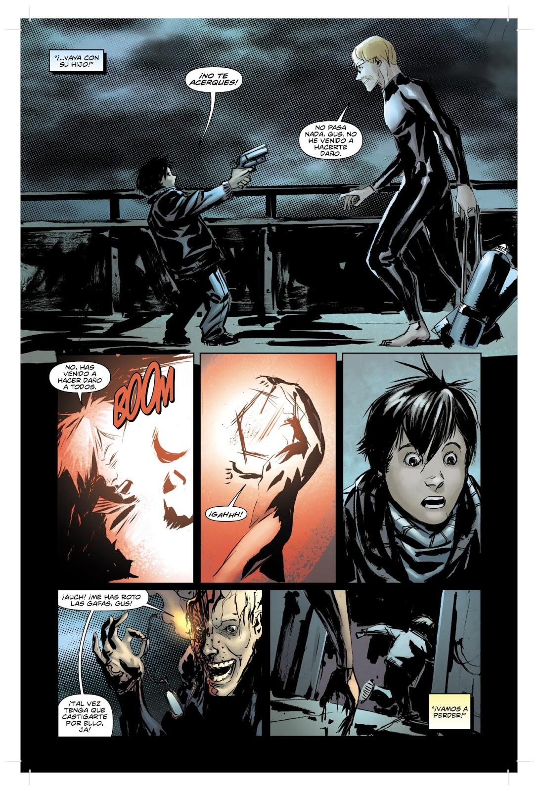 """8be89c48b0 Cuando Felicia llega a su piso con su hijo """"Detecta"""" una presencia extraña  en el mismo y, para protegerlo, lo manda a jugar a casa de un amigo."""
