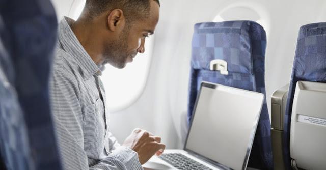 internetan di pesawat