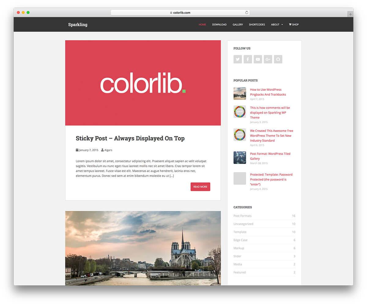 Chia sẻ 5 template đẹp mắt đến từ Colorlib