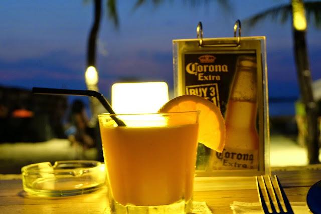 harga makanan dan minuman di segarra beach club ancol