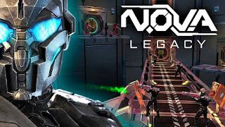 N.O.V.A Legacy Mod Apk v1.1.5 Unlimited Money Terbaru