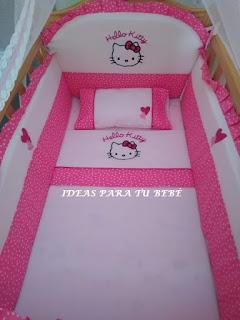 Juego de minicuna Hello Kitty