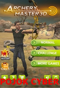 Tampilan game android Archery Master 3D v1.6