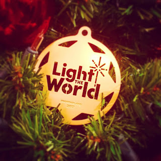 Light The World Christmas Decoration