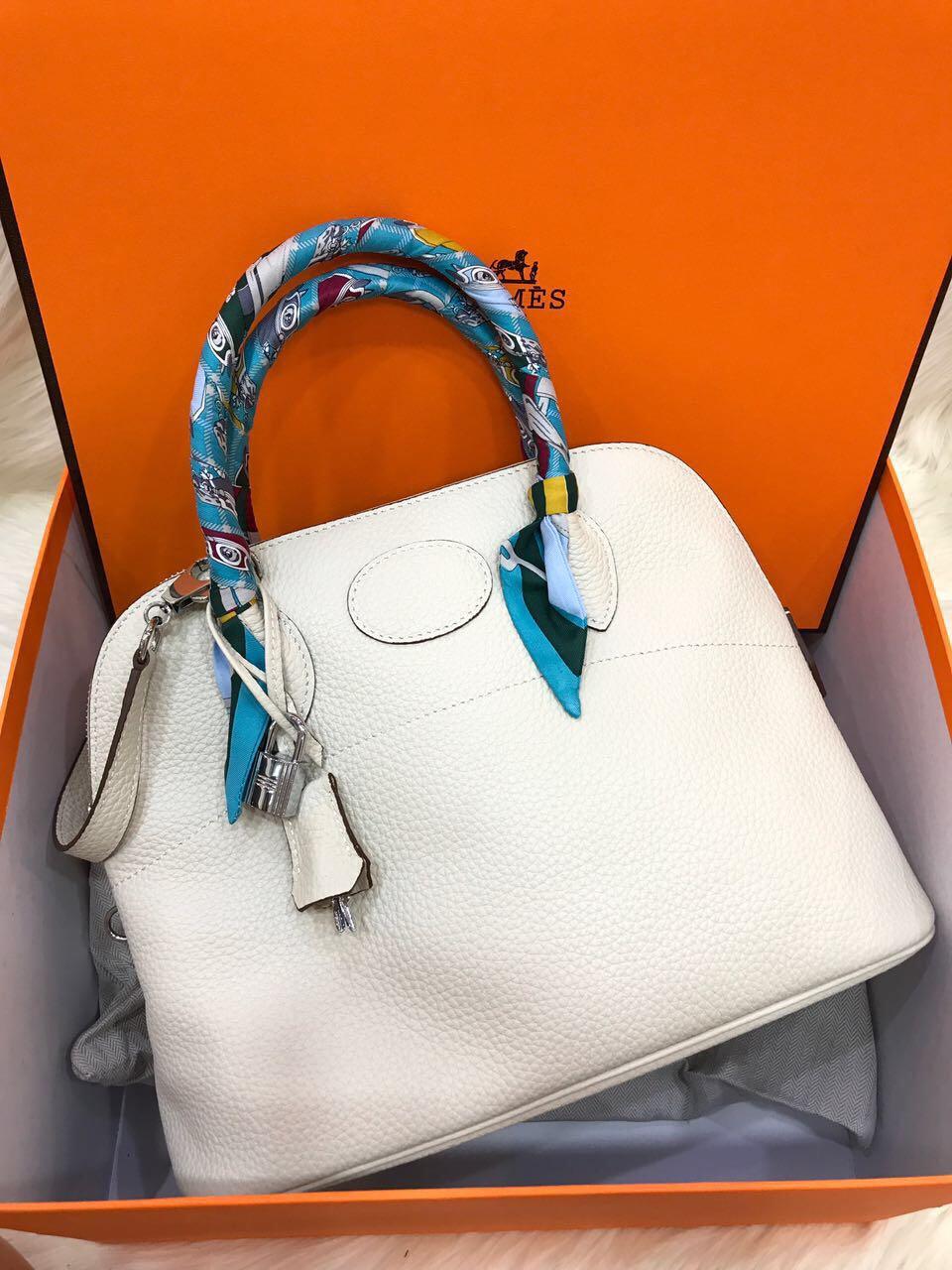 4d60d4bde6 ... shop hermes bolide clemence with longstrap mirror original leather bag..part  3 d2323 b2196
