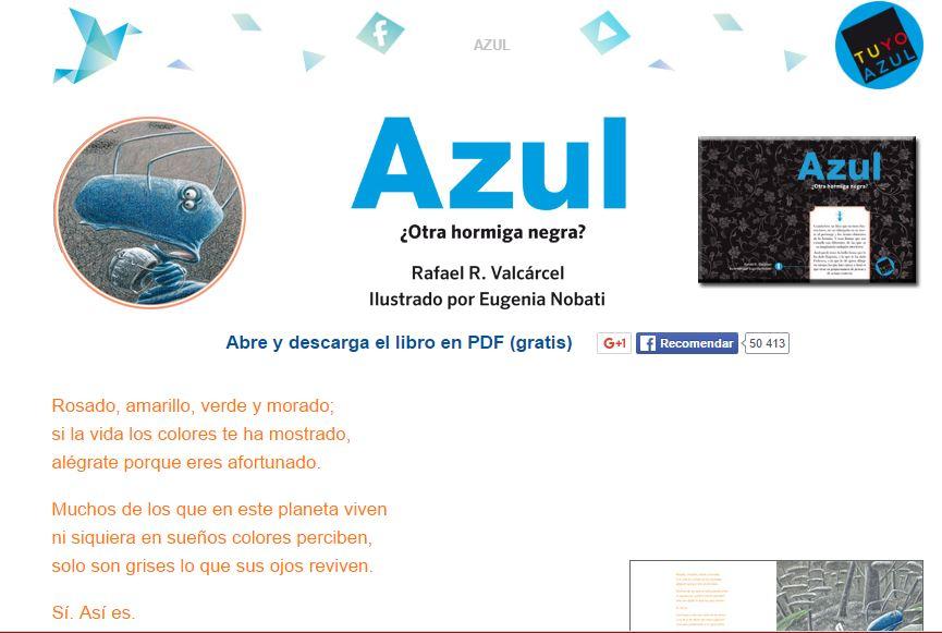 igh - escritora: La hormiga Azul descarga gratuita en pdf