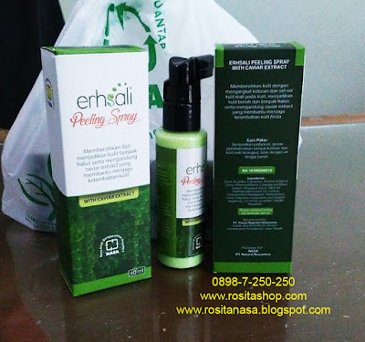 Harga Ershali Peeling Spray