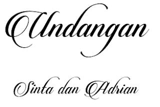 Download 40+ Font Latin Keren Untuk Desain Undangan Pernikahan, Candlescript