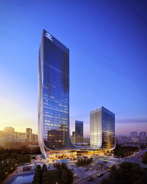 Fangda Business Headquarters in Shenzhen, China