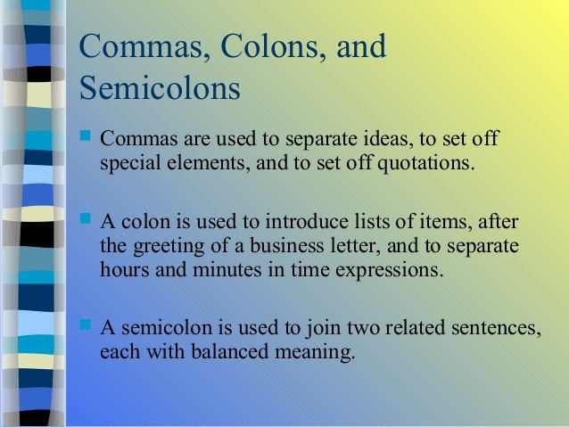 Learn English With Demi And Irwan COMMA COLON