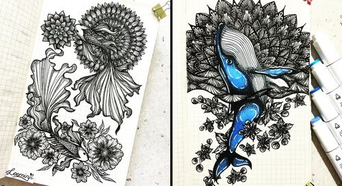 00-Lidiia-Varichenko-Mandalas-and-Animals-www-designstack-co