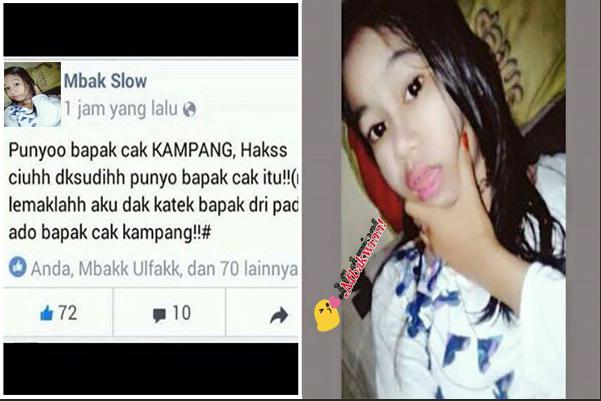 Heboh! Status Gadis Ini Hina Ayah Kandungnya Buat Netizen Geram