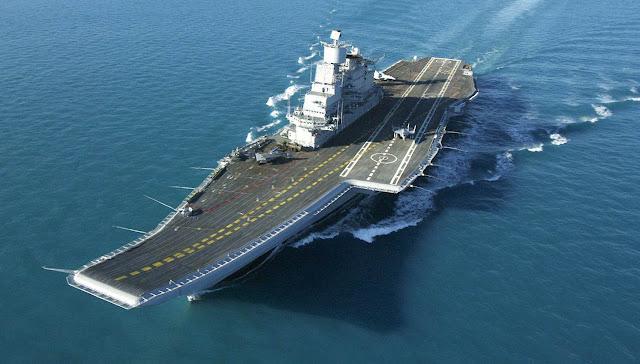 INS Vikramaditya Aircraft Carrier - Índia