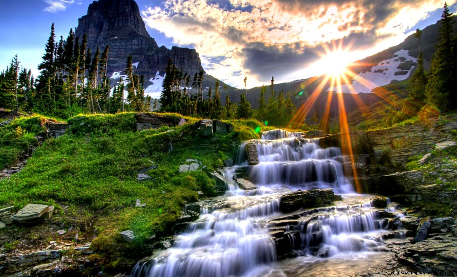 Waterfall Wallpaper Hd Desktop