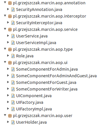 Spring AOP in Security - Controlling Creation of UI Components via