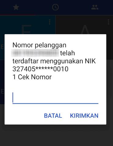 Registrasi Kartu