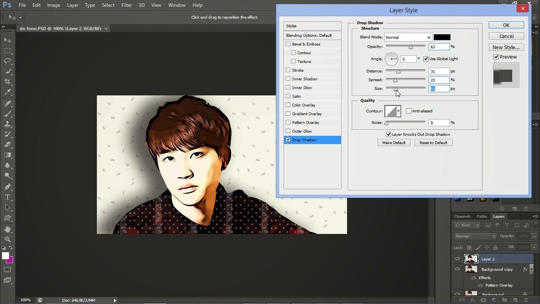 Mengedit Foto Menjadi Kartun Dengan Adobe Photoshop Cs6 Cara Merubah Foto Menjadi Kartun Fungsi Layer Pada Pphotoshop Fungsi Toolbox Pada Photoshop Cs6 Pengertian Definisi Photoshop