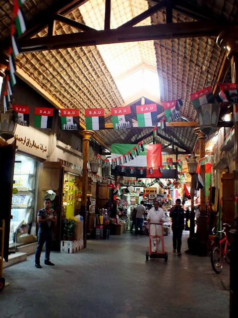 zona antigua de Dubai