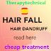 Hair fall due to dandruff / बालों का झड़ना कैसे रोके