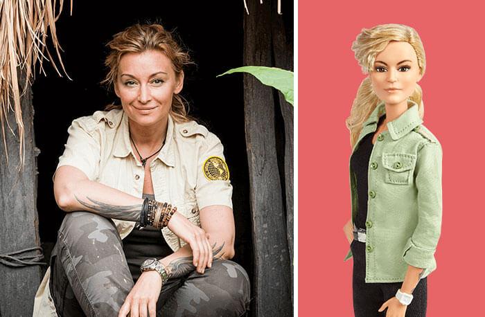 Barbie Introduces 17 New Dolls Based On Inspirational Women Such As Frida Kahlo And Amelia Earhart - Martyna Wojciechowska, Journalist