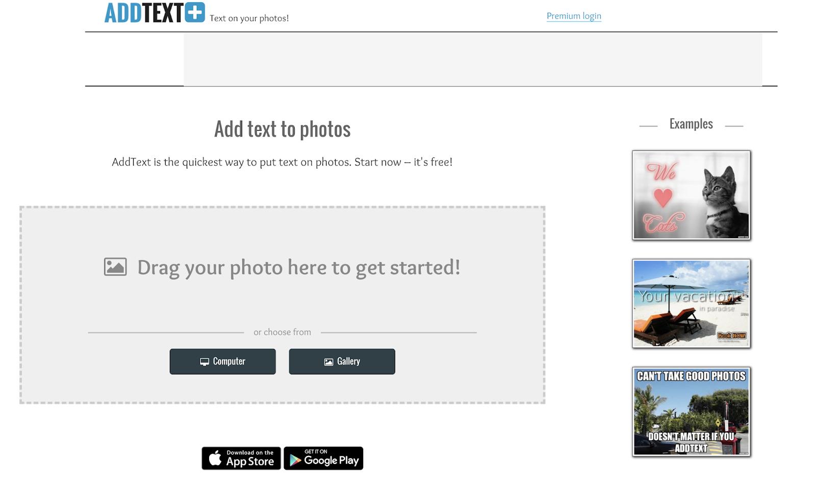 Add Text Image Editor
